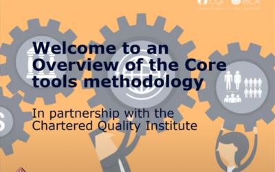 Core Tools (Webinar)