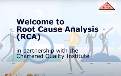 Root Cause Analysis (Webinar)